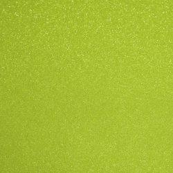 Csillámos filc anyag - 20x30 cm - LIME ZÖLD