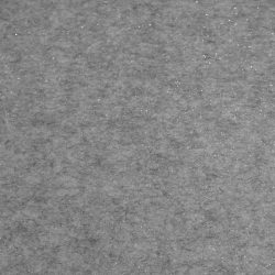 Csillámos filc anyag - 20x30 cm - VILÁGOS SZÜRKE MELANGE