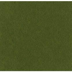 Puha egyszínű filc anyag SÖTÉT MOHAZÖLD - 20x30 cm