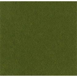 Puha egyszínű filc anyag SÖTÉT MOHAZÖLD - méterben