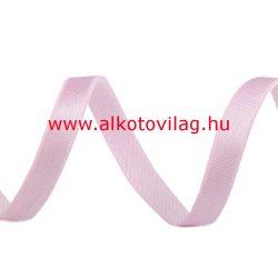 Szatén gumi PASZTELLRÓZSASZÍN - 10 mm