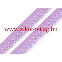 Csipkés gumi HALVÁNYLILA - 15 mm