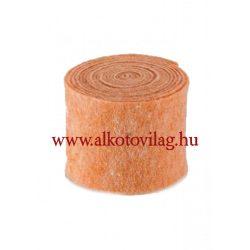 100 % Gyapjúfilc ÉLÉNK BARACK MELANGE - 15x50 cm