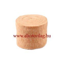 100 % Gyapjúfilc HALVÁNY BARACK - 15x50 cm