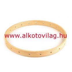 Fa karika lyukakkal - 21 cm átmérővel